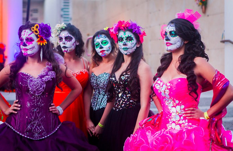 Hollywood Forever Cemetery Day of the Dead