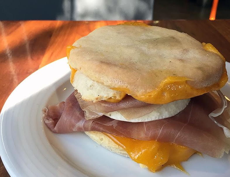 Clementine Biscuit Breakfast Sandwich