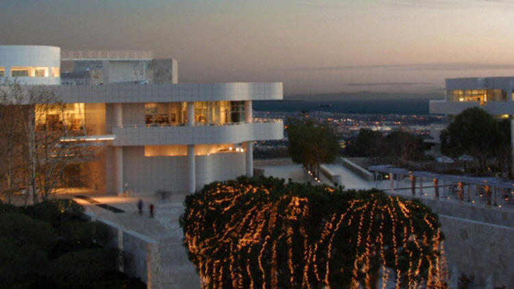 Getty Holiday Lights