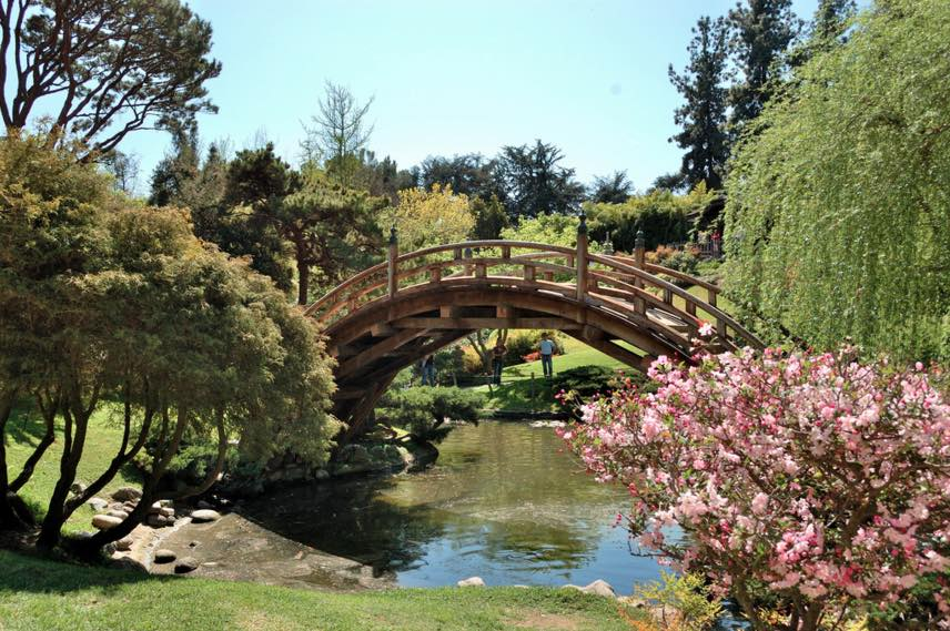 Huntington Library Bridge