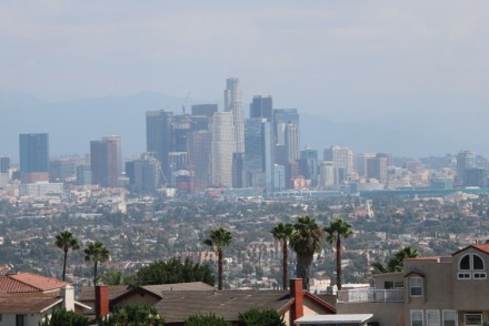 Kenneth Hahn View of DTLA