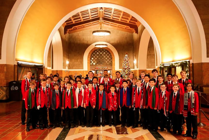 All American Boys Chorus at Union Station