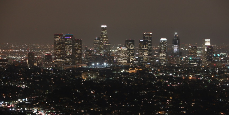 DTLA Skyline from Griffith Observatory