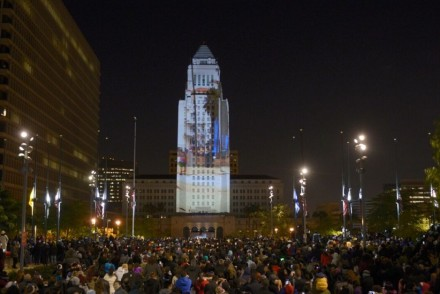 Grand Park New Year's Eve 2014