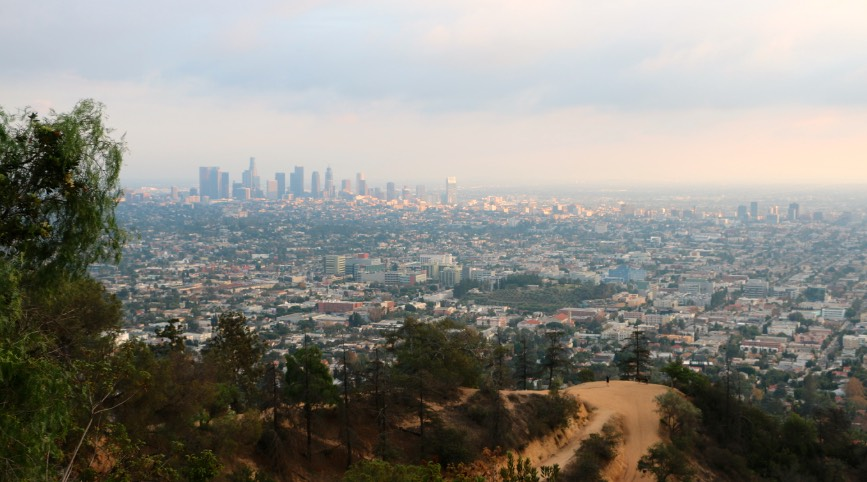 Los Angeles Basin viewed from Griffith Park