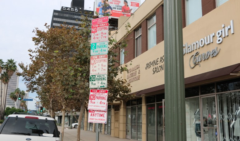 Awful Los Angeles Parking Signs
