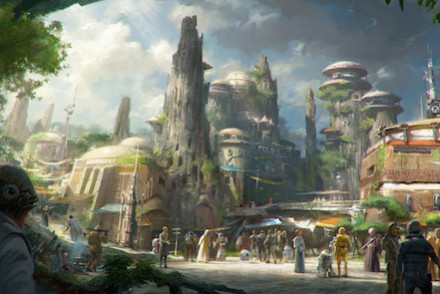 Star Wars Land Artist Concept