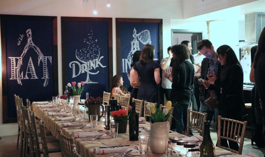 DTLA Dinner Club Meal