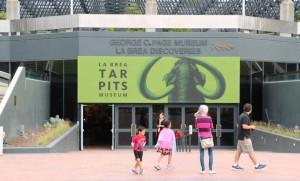 La Brea Tar Pits Museum Exterior