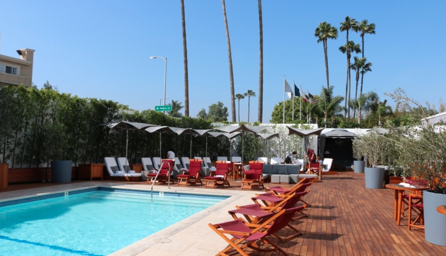 Mr. C Pool Beverly Hills