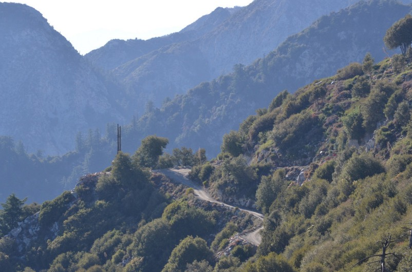 Mt. Wilson Observatory View
