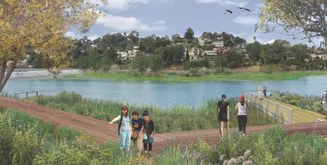 Silver Lake Forward Reservoir Plan