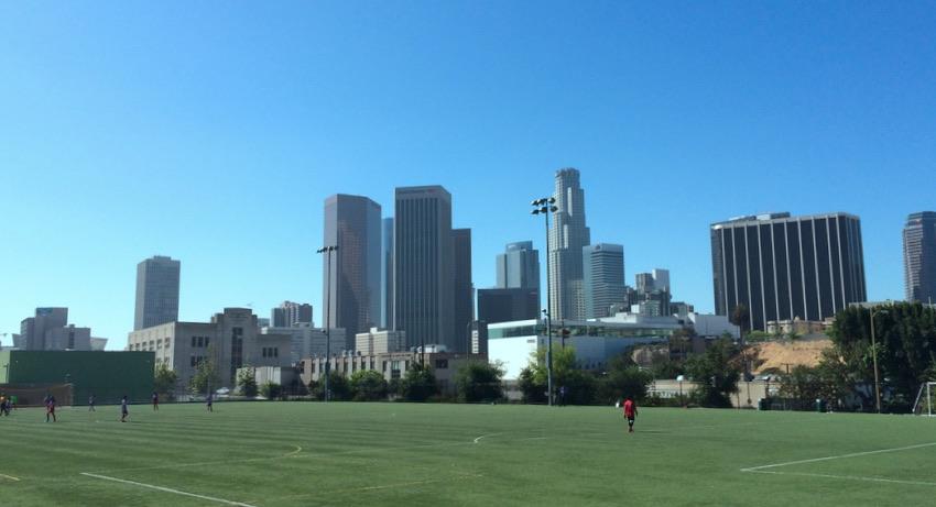 Vista Hermosa Park Soccer Field