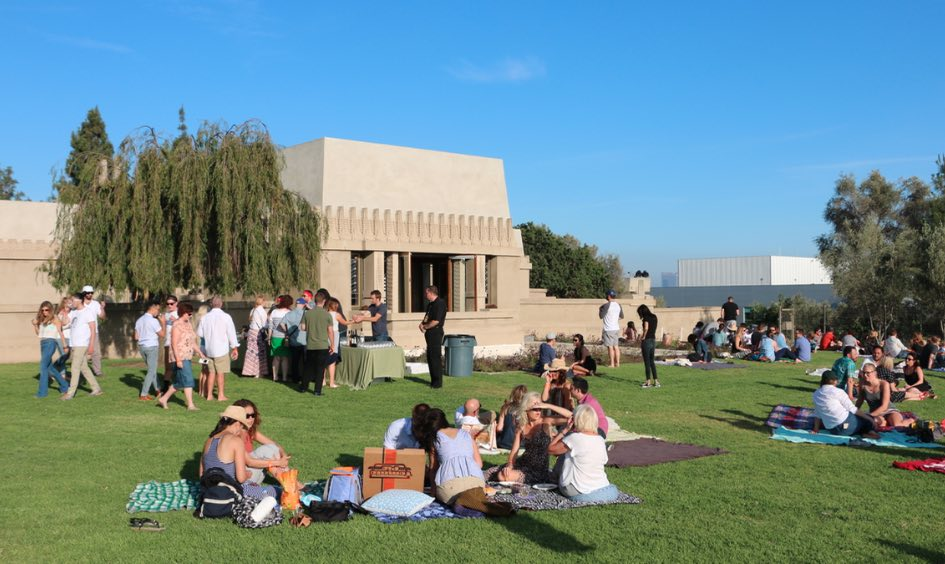 Barnsdall Art Park Friday Night Wine Tastings