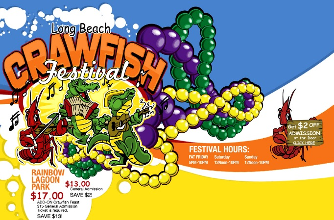 The Long Beach Crawfish Festival Is Back August 5 7