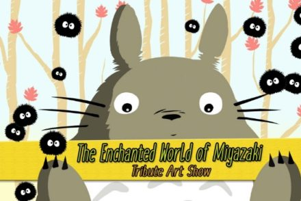 enchanted world of miyazaki art show featured