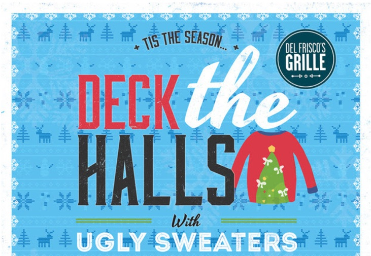 del friscos ugly sweater party featured