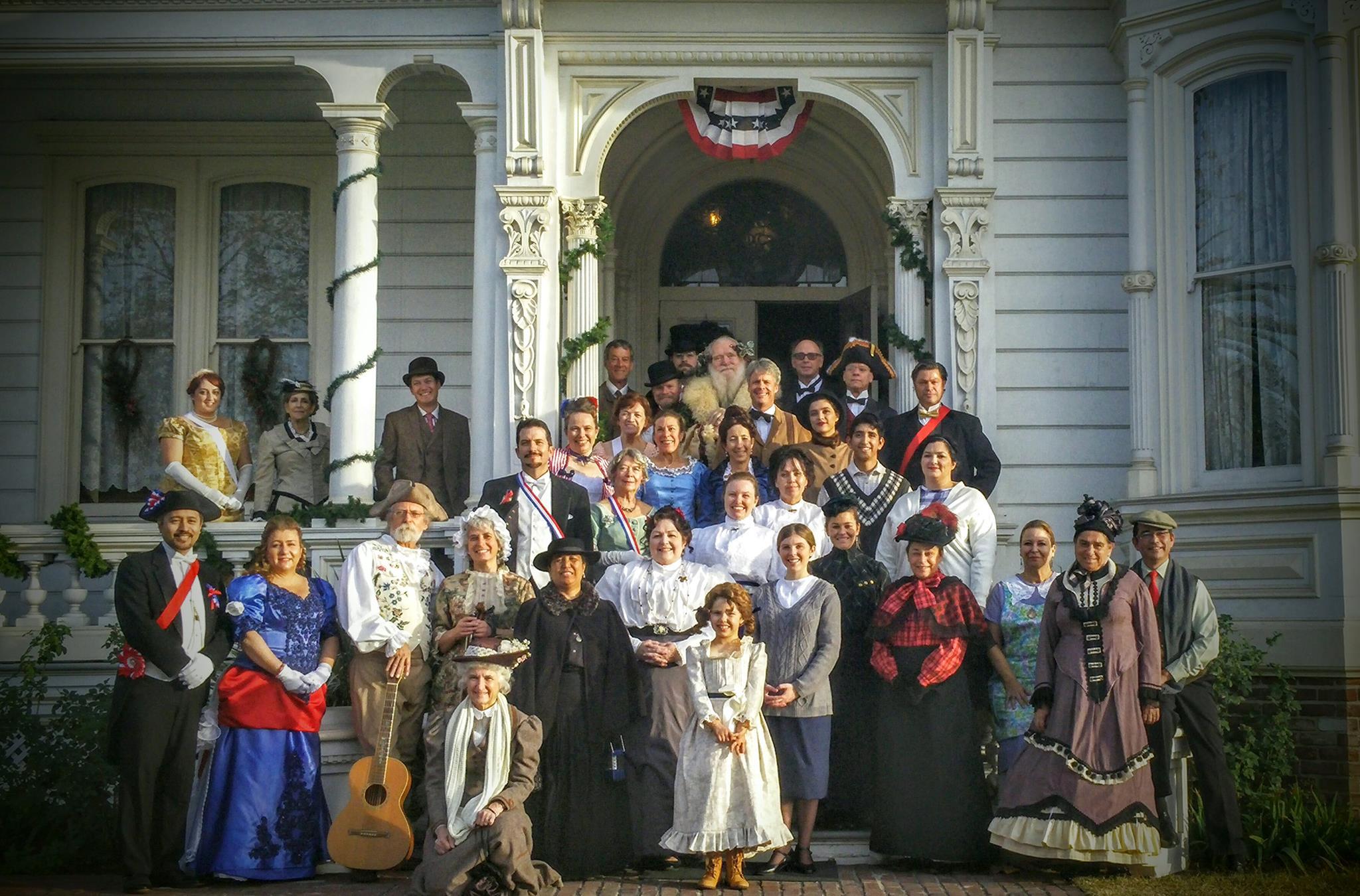 Heritage Square Museum's Lamplight Celebration Tours