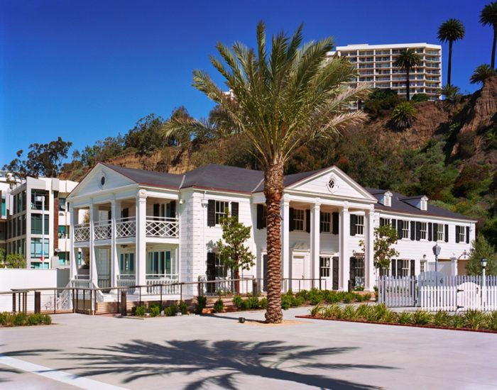 The Marion Davies Guest House at the Annenberg Community Beach House
