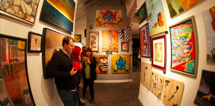 Chocolate and Art Show Los Angeles