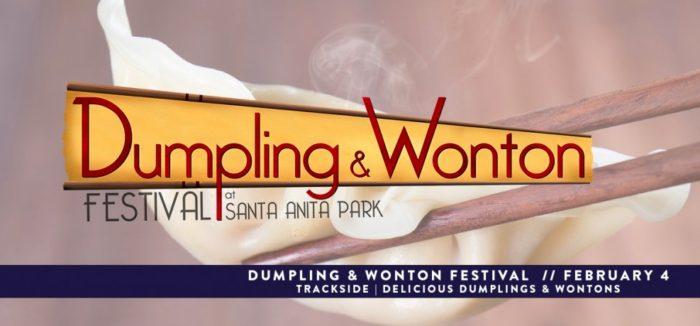 Dumpling & Wonton Festival at Santa Anita Park