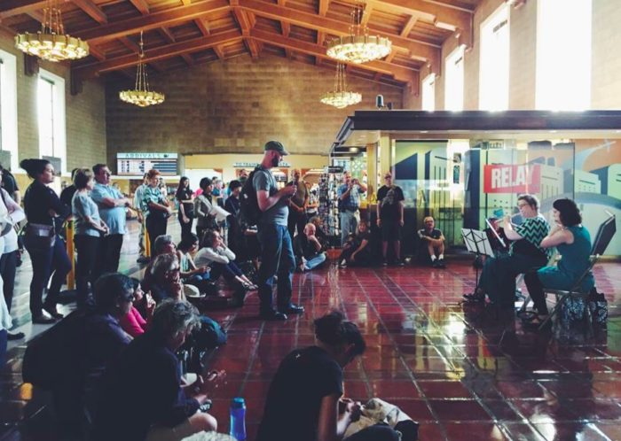 Bach in the Subways at Union Station