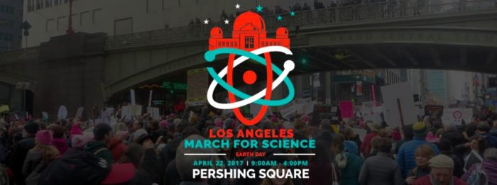 March for Science Los Angeles at Pershing Square