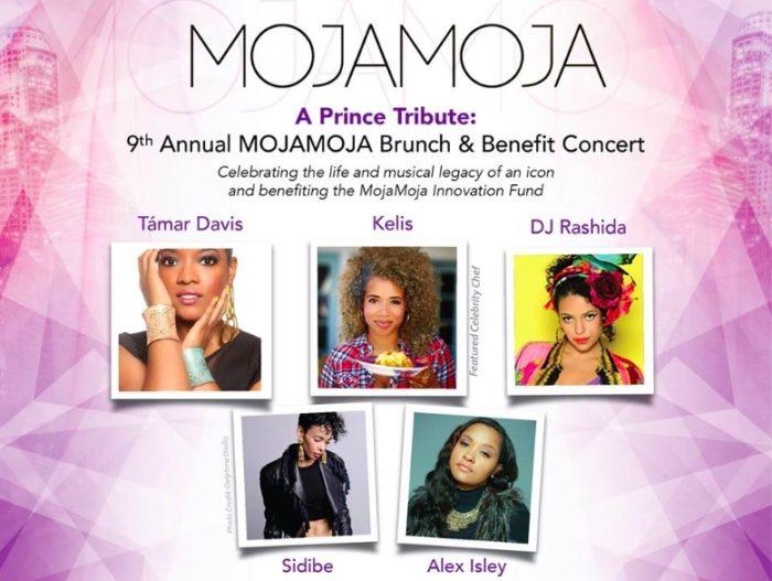 9th Annual MojaMoja Tribute Concert & Brunch