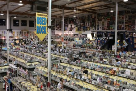 Amoeba Hollywood Record Shop