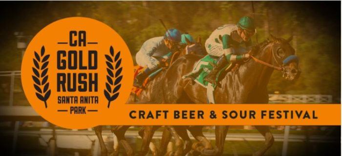 California Gold Rush Beer & Sour Festival at Santa Anita Park