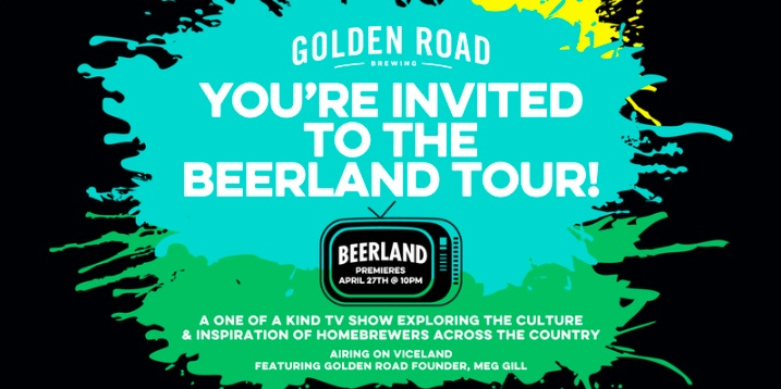 Golden Road Brewing's Beerland Tour