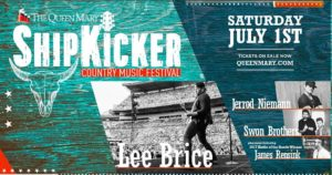 3rd Annual ShipKicker Country Music Festival at the Queen Mary