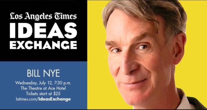 Los Angeles Times Ideas Exchange with Bill Nye