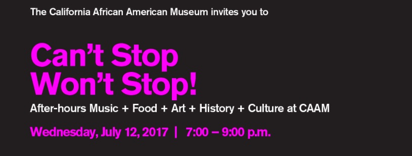 Season Launch Party at The California African American Museum (CAAM)