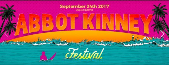 Abbot Kinney Festival 2017