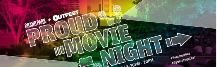 Proud Movie Night at Grand Park
