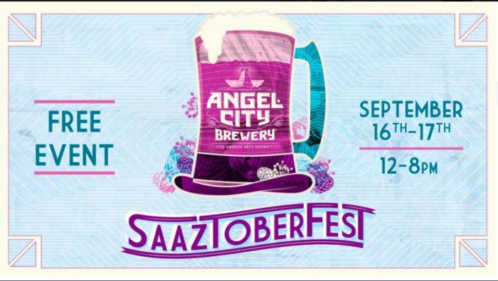 Saaztoberfest at Angel City Brewery