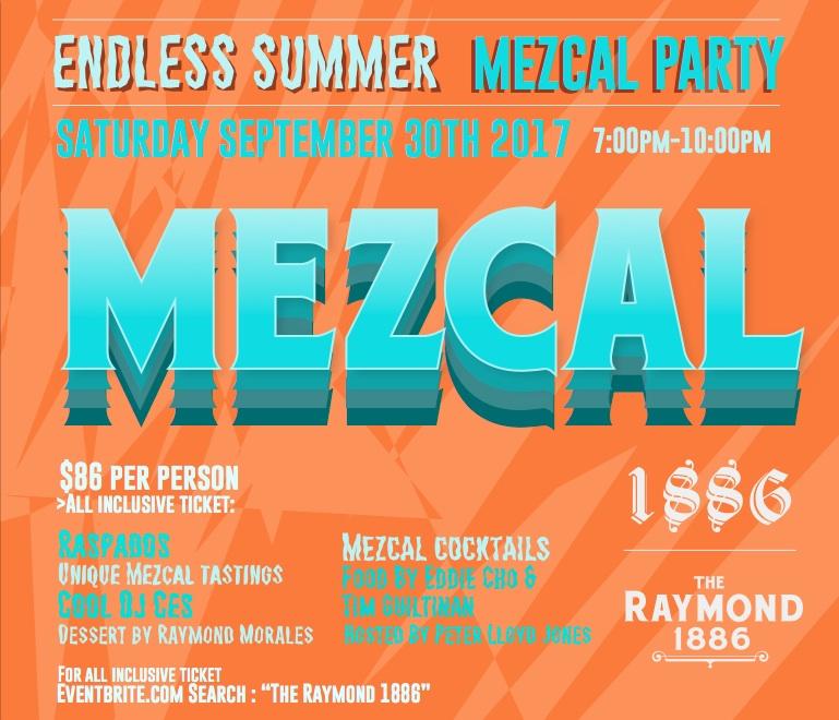 Endless Summer Mezcal Party at 1886 Bar in Pasadena