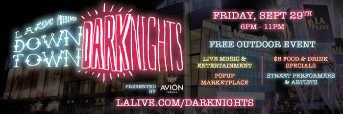 Downtown Dark Nights at L.A. LIVE