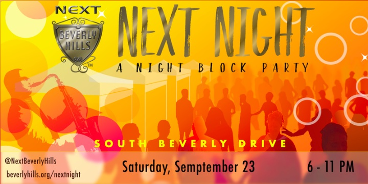 Next Night Block Party in Beverly Hills