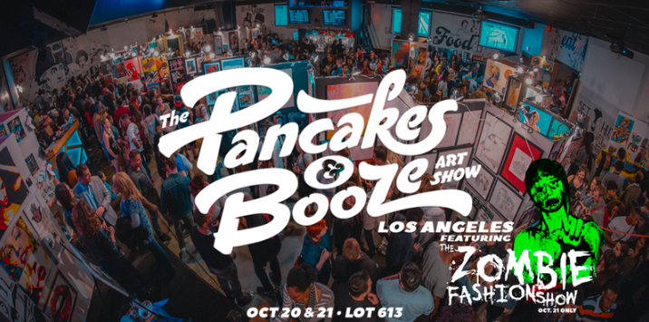 The Pancakes & Booze Art Show