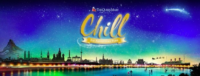 The Queen Mary's All-New CHILL Ice Adventure Park 2017