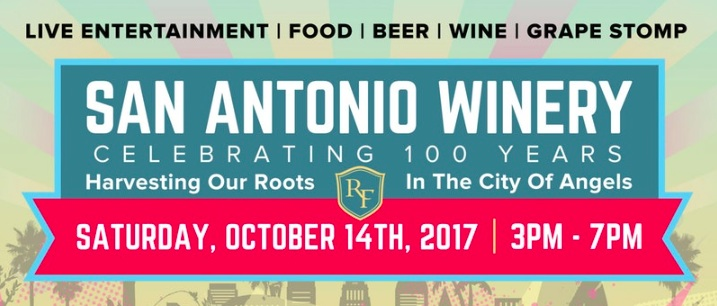 San Antonio Winery 100th Anniversary Celebration