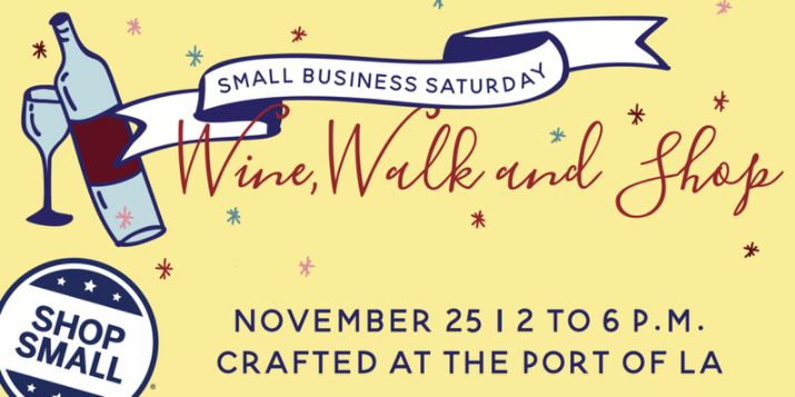 Wine, Walk and Shop at CRAFTED
