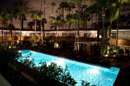 The Tropicana Pool at the Hollywood Roosevelt Hotel