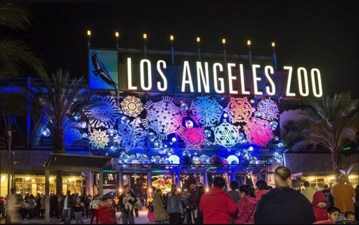 LA Zoo Lights 2017