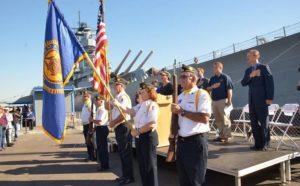 Veteran's Day Festival at the Battleship Iowa
