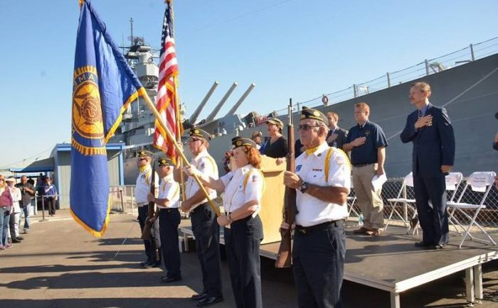 Veteran's Day Festival at the Battleship Iowa