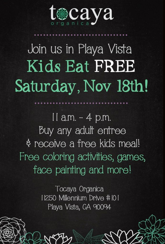 tocaya organica free kids meal