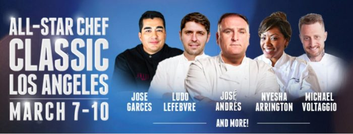 All-Star Chef Classic LA Live 2018